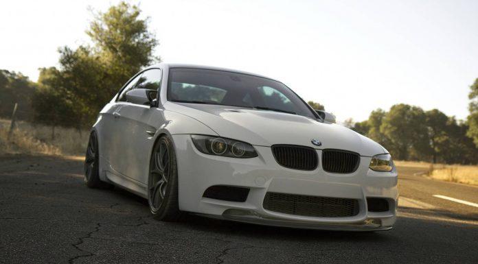 Alpine White BMW M3