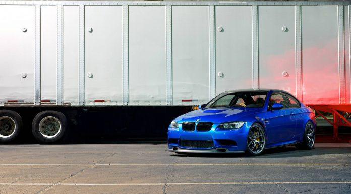 Monte Carlo Blue BMW M3