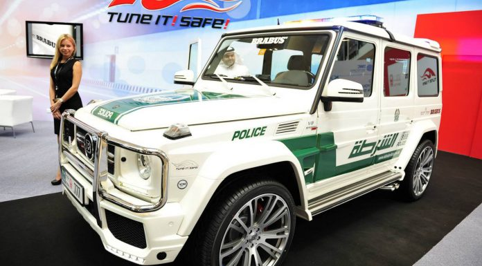 Brabus B63S 700 Widestar Dubai Police Edition