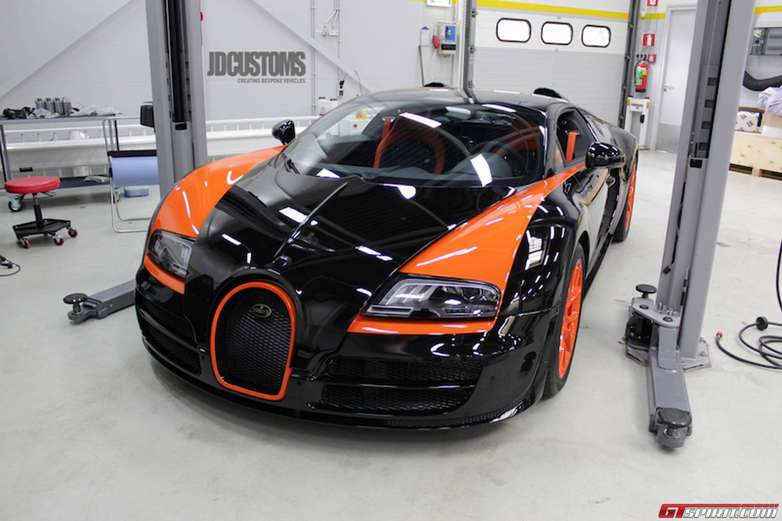 bugatti veyron grand sport vitesse wrc edition at jd customs gtspirit. Black Bedroom Furniture Sets. Home Design Ideas