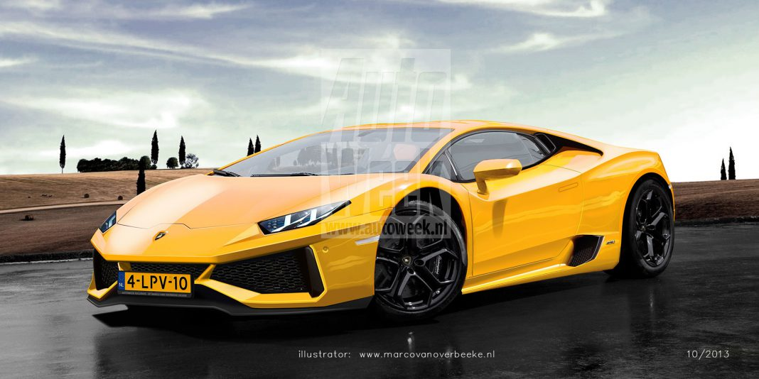 More Accurate 2015 Lamborghini Cabrera Renderings