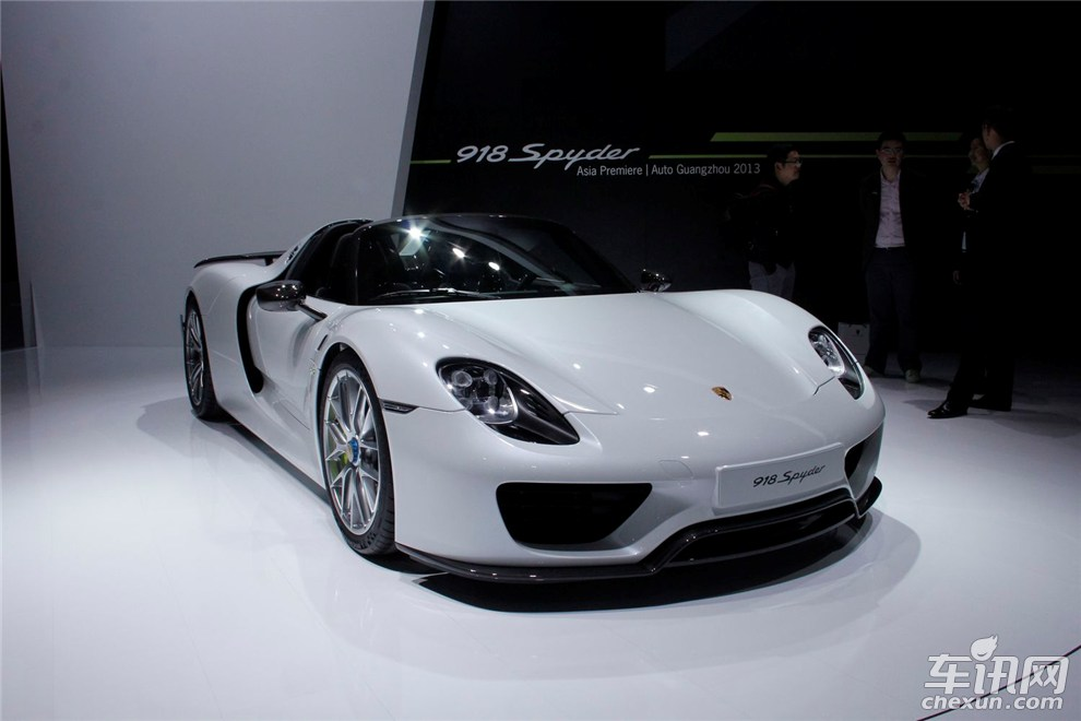 guangzhou 2013 porsche 918 spyder weissach gtspirit. Black Bedroom Furniture Sets. Home Design Ideas