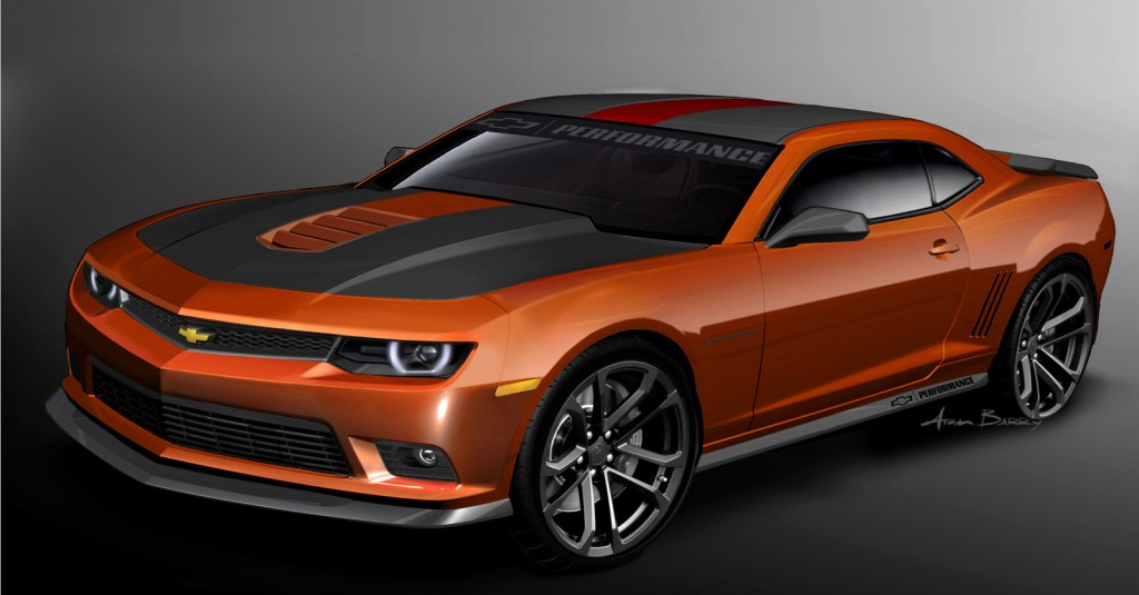 Chevrolet Previews Two Camaro Concepts and Performance Camaros