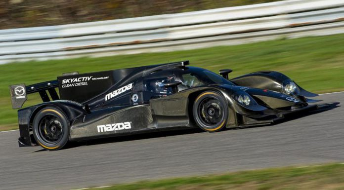 Mazda Reveals Diesel-Prototype for 2014 Tuder United SportsCar Championship