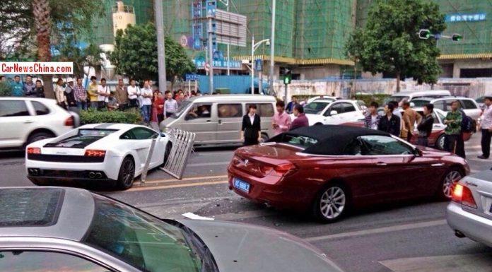 Lamborghini Gallardo 550-2 Balboni Wrecked in China