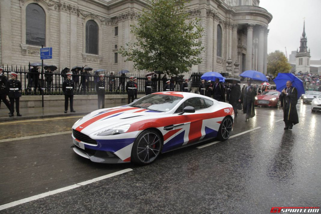 GREAT Union Jack Aston Martin Vanquish