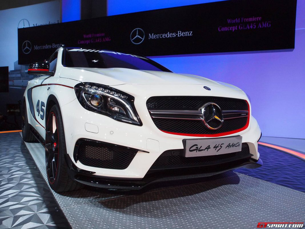 Los Angeles 2013: Mercedes-Benz GLA 45 AMG Concept