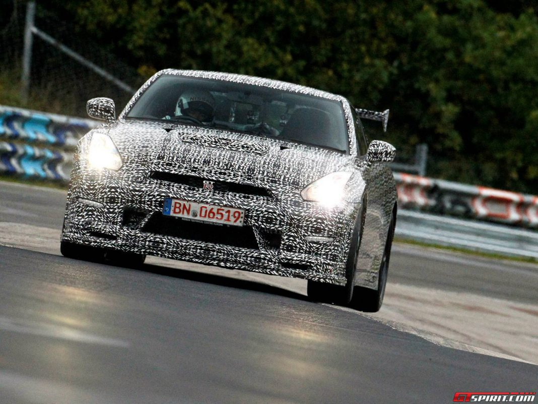 Nissan GT-R NISMO Laps the Nurburgring in 7 Minutes 8 Seconds!