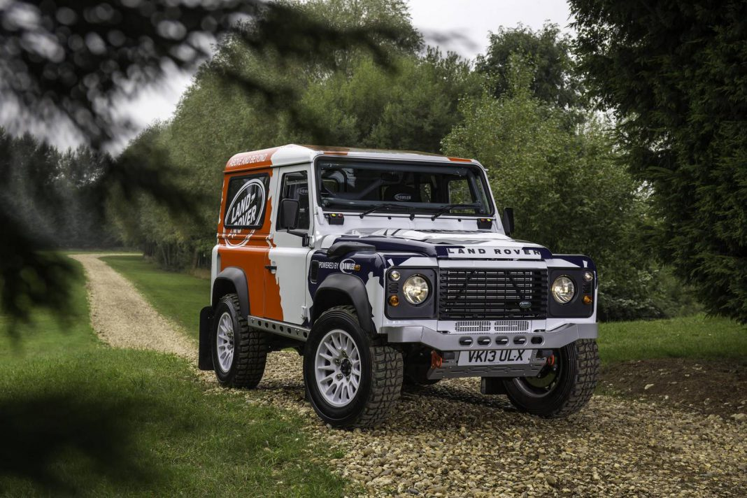 Land Rover and Bowler Announce Defender Challenge Rally Series