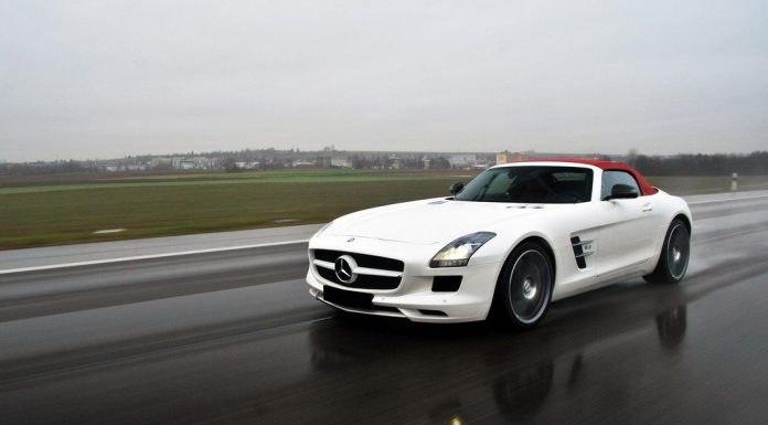 Mercedes-Benz SLS AMG Final Edition Pinned for L.A. Debut
