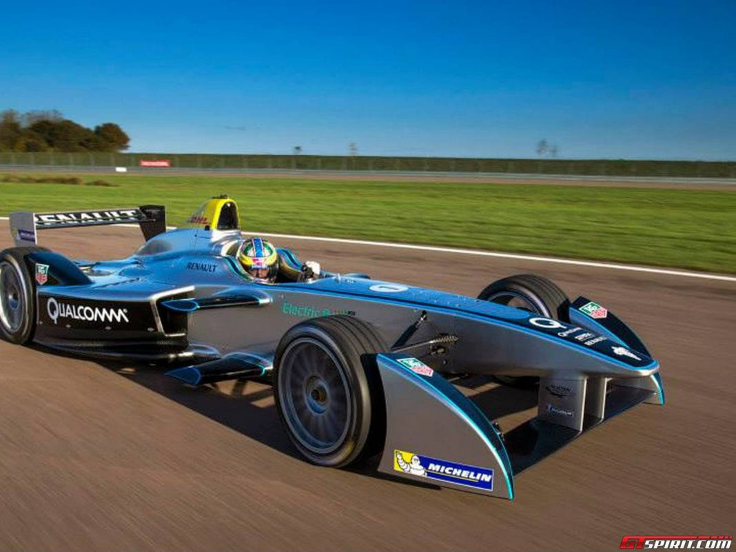 Formula E Racecar Spark-Renault SRT_01E