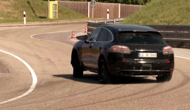 Track Capabilities of 2014 Porsche Macan Previewed