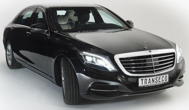Official: Armoured 2014 Mercedes-Benz S-Class by Transeco