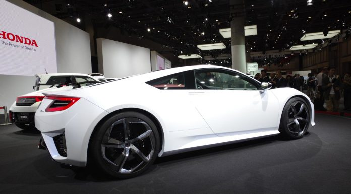 Tokyo 2013: White 2015 Honda NSX Concept
