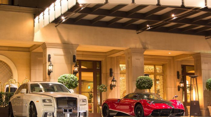 Transformers 4 Pagani Huayra in Beverly Hills