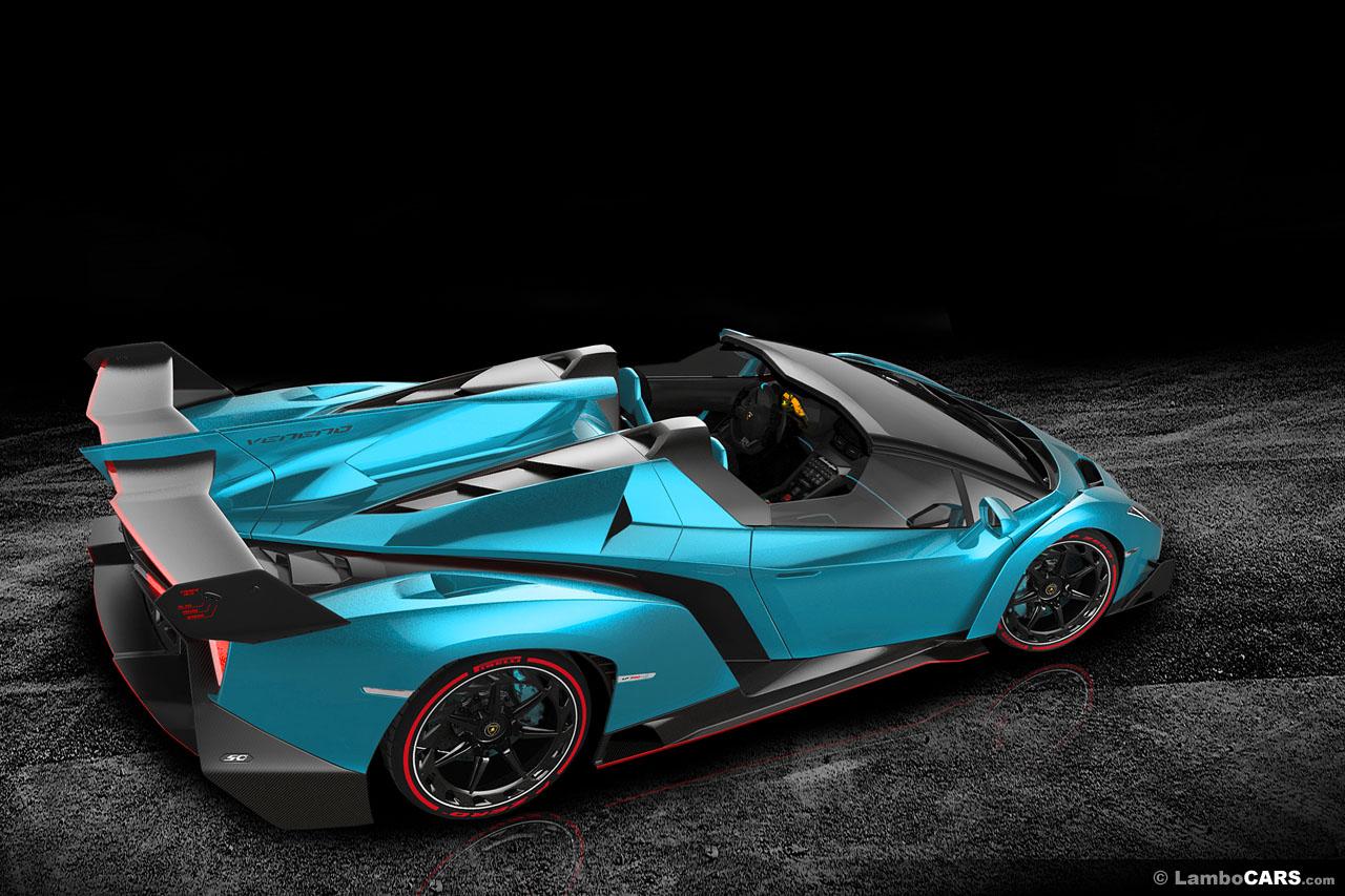 All Possible Lamborghini Veneno Colors Imagined