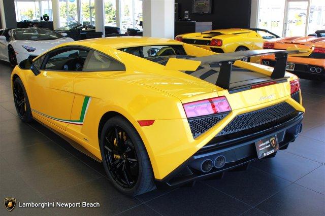 Giallo Midas Lamborghini Gallardo LP570-4 Squadra Corse For Sale