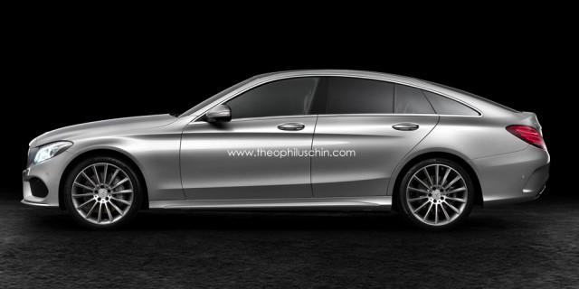 Upcoming Mercedes-Benz S-Class Sportcoupe Comes to Life