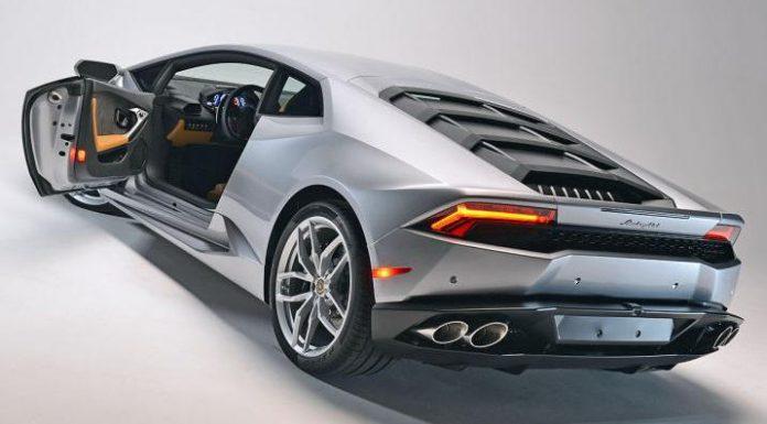 Lamborghini Huracán Debuts New Engine Cover in Fresh Batch of Photos