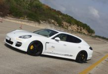 Gemballa Panamera Turbo GTP 700 Hits 338 km/h on Nardo Ring