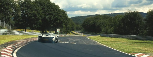 More From the McLaren P1s Nurburgring Run!
