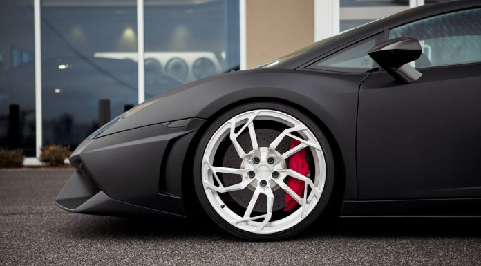 Matte Black Lamborghini Gallardo LP560-4 on Egoista Inspired PUR Wheels