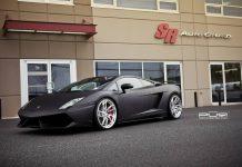 Matte Black Lamborghini Gallardo LP560-4 on Egoista Inspired PUR Wheels