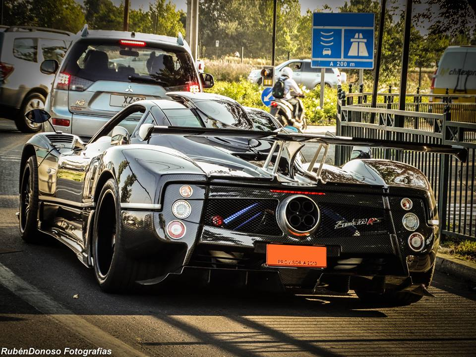 One-off Pagani Zonda 760RS Spotted in Chile