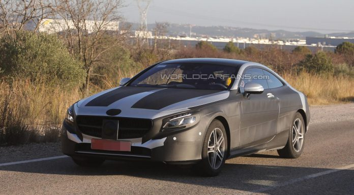 2015 Mercedes-Benz S-Class Coupe Losses Some Camo