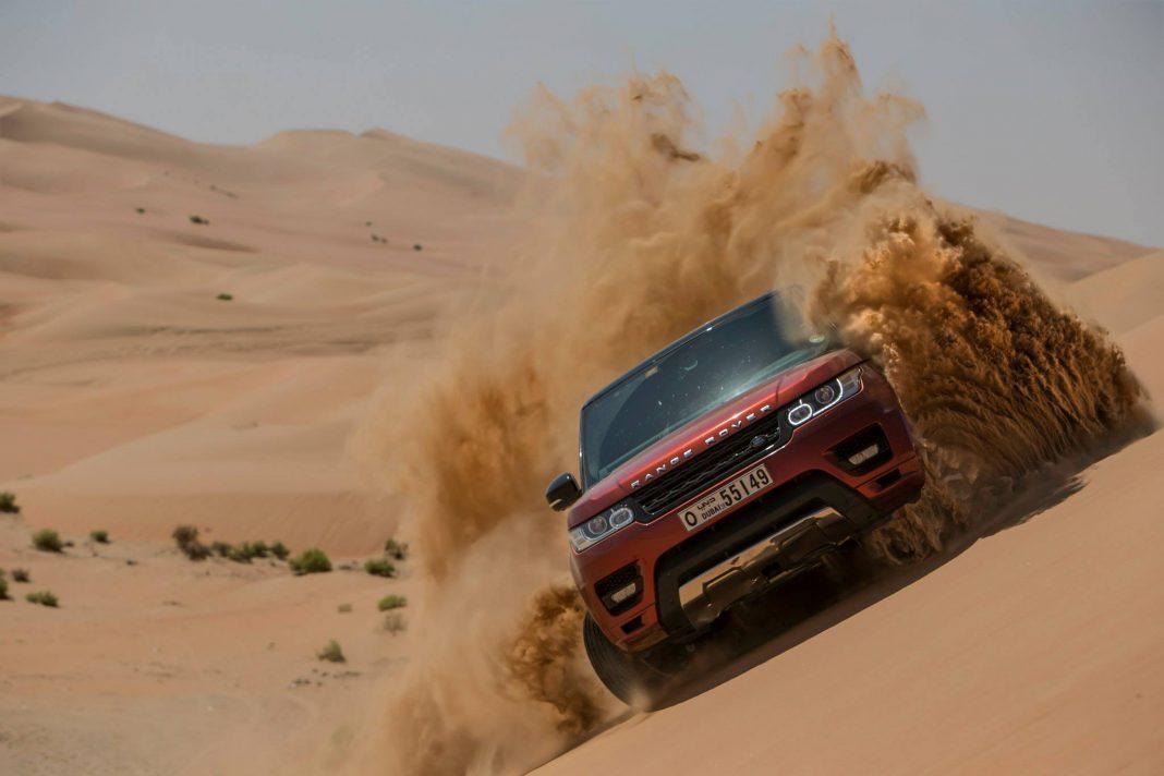 New Range Rover Sport Takes on the World's Largest Sand Desert!