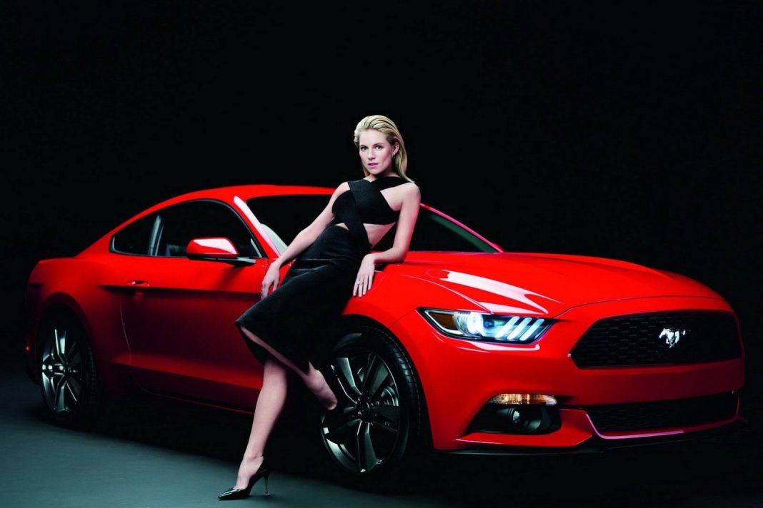 2015 Ford Mustang Goes Sexy With Sienna Miller