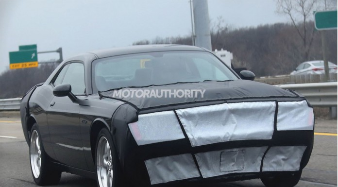 2015 Dodge Challenger Spied With Testing Continuing