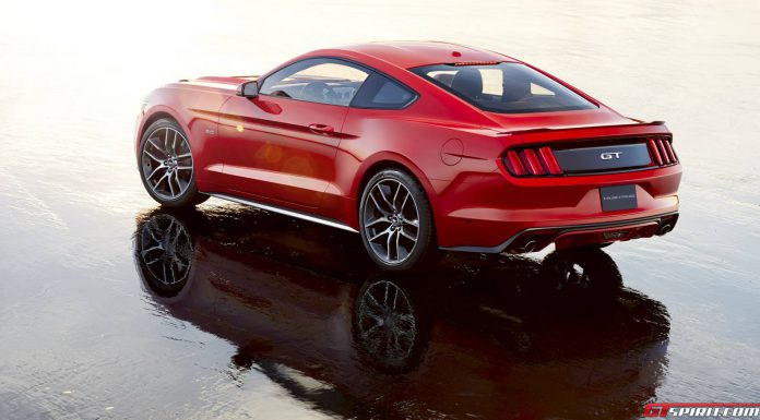Official: 2015 Ford Mustang