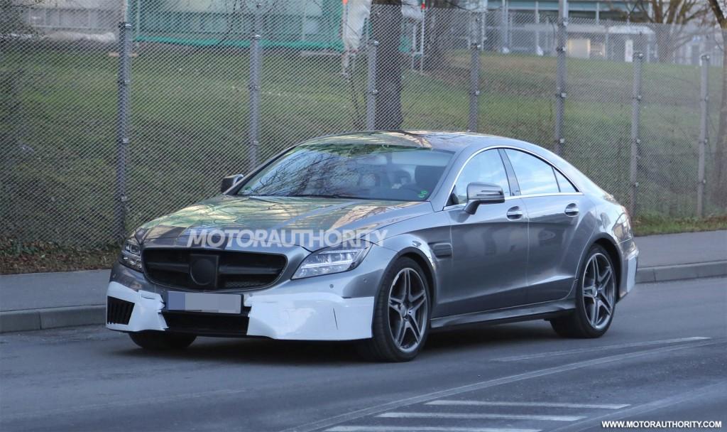 2015 Mercedes-Benz CLS 63 AMG Losses Some Camo