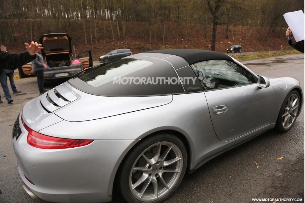 2015 Porsche 991 911 Targa Spied Completely Uncovered