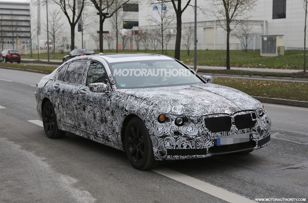 Long-Wheelbase 2015 BMW 7-Series In The Works