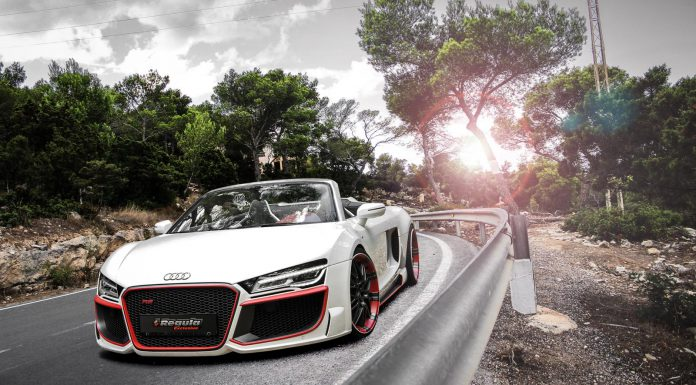 Official: Audi R8 V10 Plus Spyder by REGULA Tuning