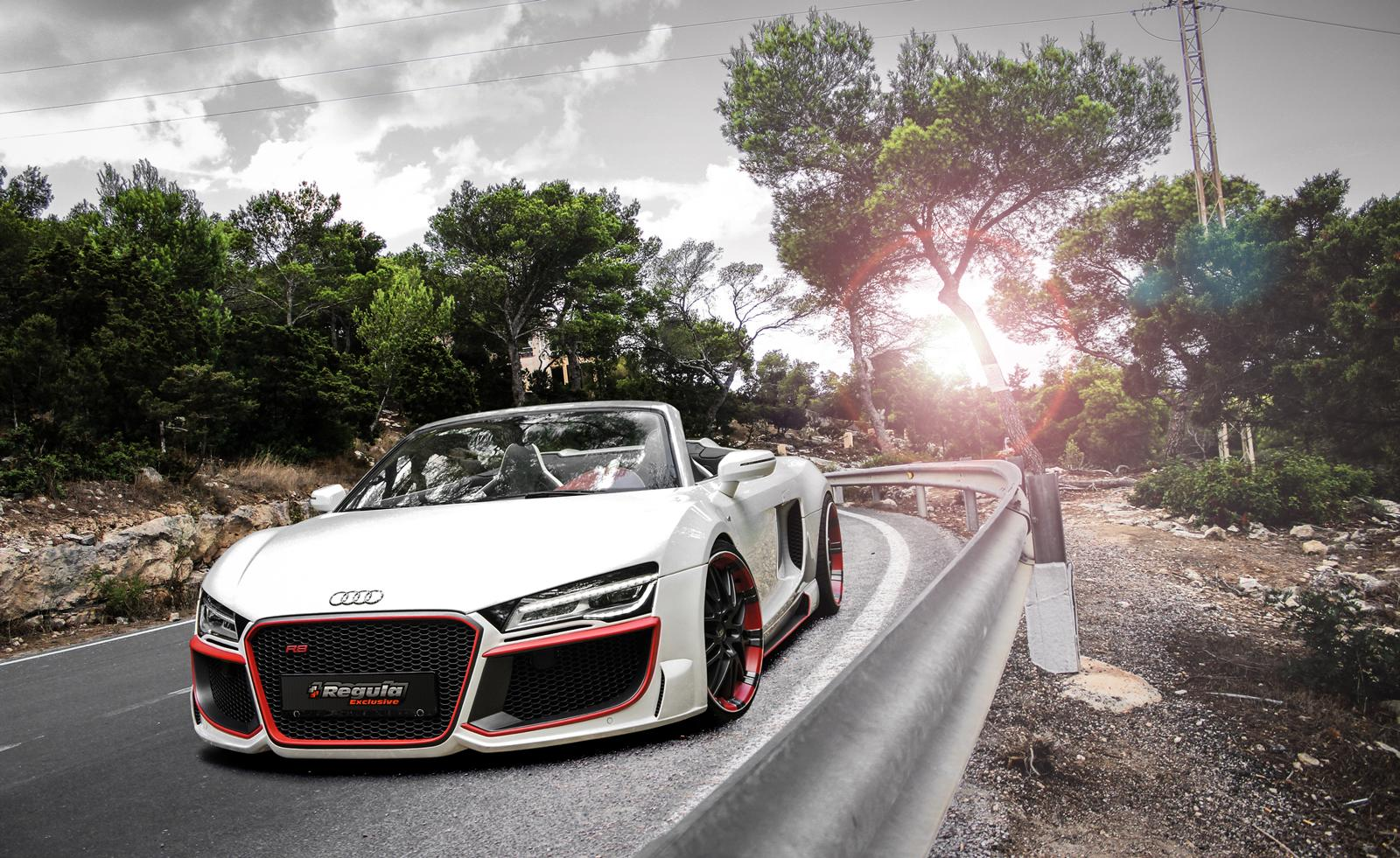 Official Audi R8 V10 Spyder By Regula Tuning Gtspirit