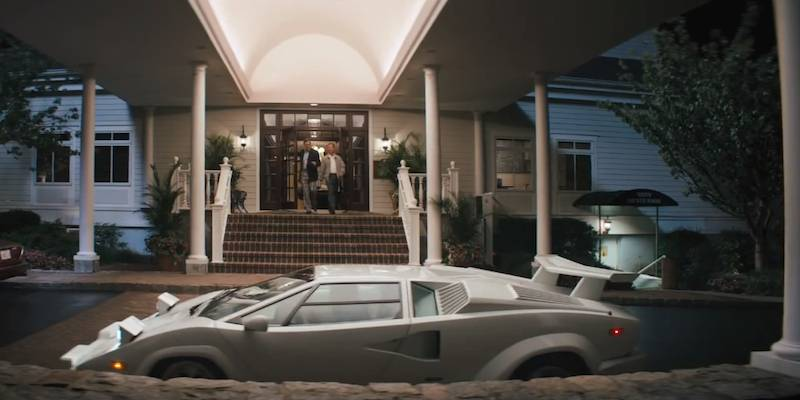 real 25th anniversary lamborghini countach destroyed in 39 the wolf of wall. Black Bedroom Furniture Sets. Home Design Ideas
