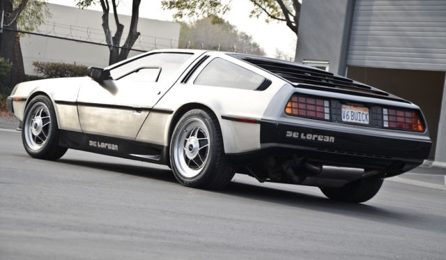 Twin-Turbo V8 DeLorean for Sale on eBay