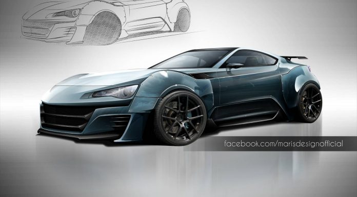 Toyota GT86 Inspired Supercar Looks Good