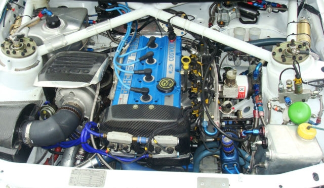 Ford Escort Cosworth Wrc Rally Car For Sale In Italy Gtspirit