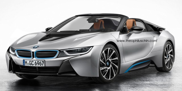 BMW Said to Have Approved i8 Spyder for 2015