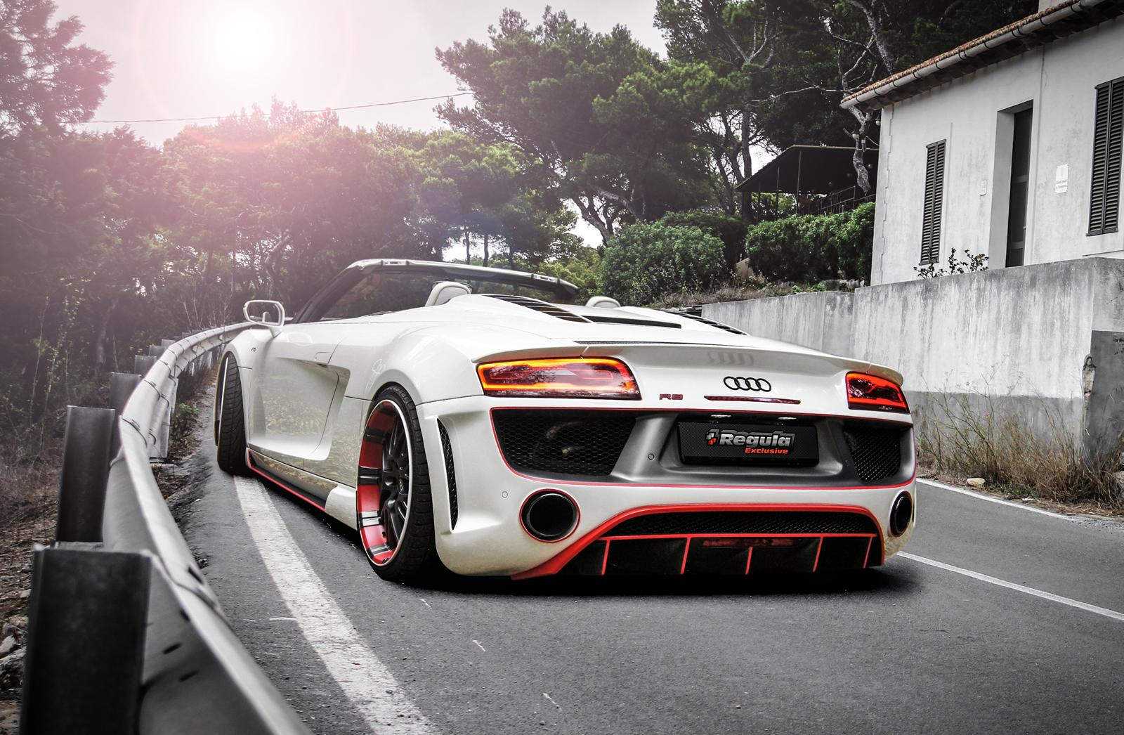 official audi r8 v10 spyder by regula tuning gtspirit. Black Bedroom Furniture Sets. Home Design Ideas