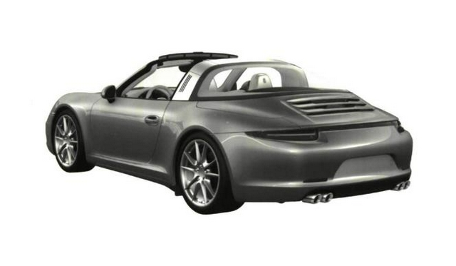 Patented Images of Porsche 991 Targa Leaked