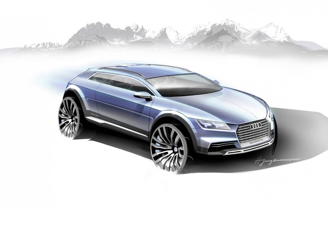 Audi Allroad Shooting Brake Concept Teased Before Detroit Debut
