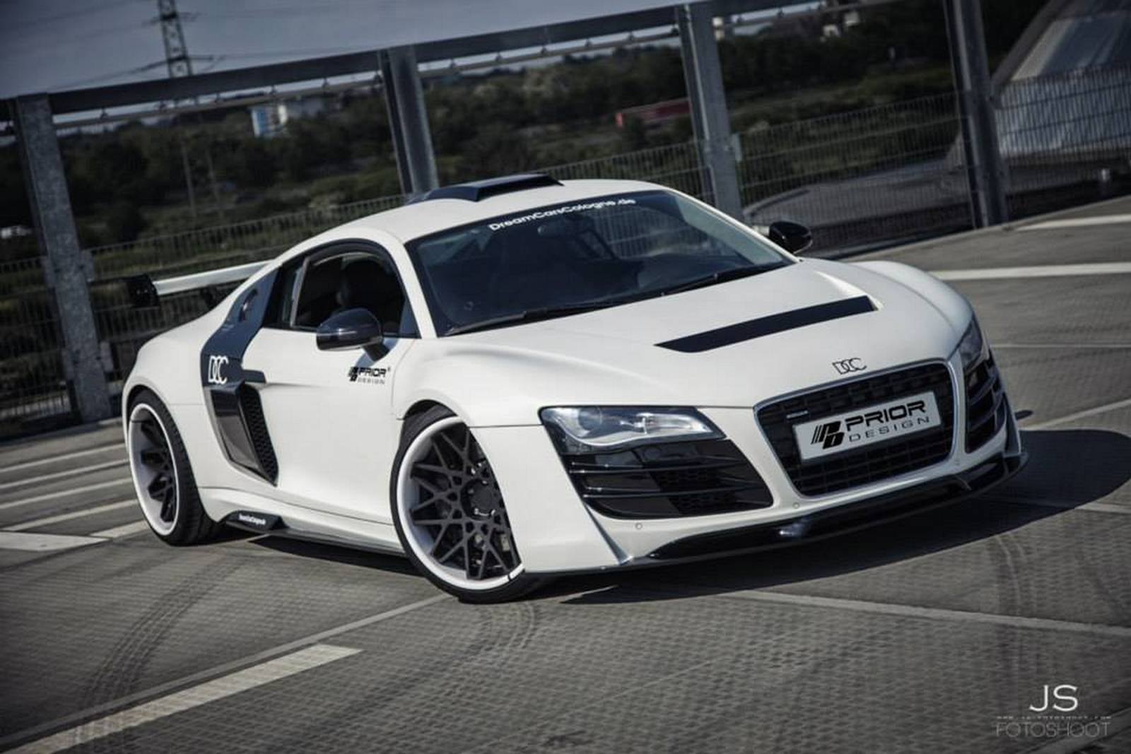 White Audi R8 Pd Gt850 By Dcc Gtspirit