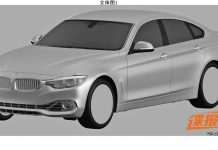 Patented Images of BMW 4-Series Gran Coupe Leak