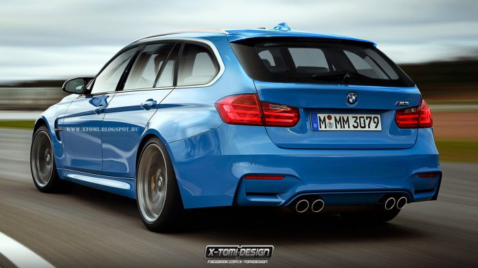 Possible BMW M3 Touring Gets Rendered