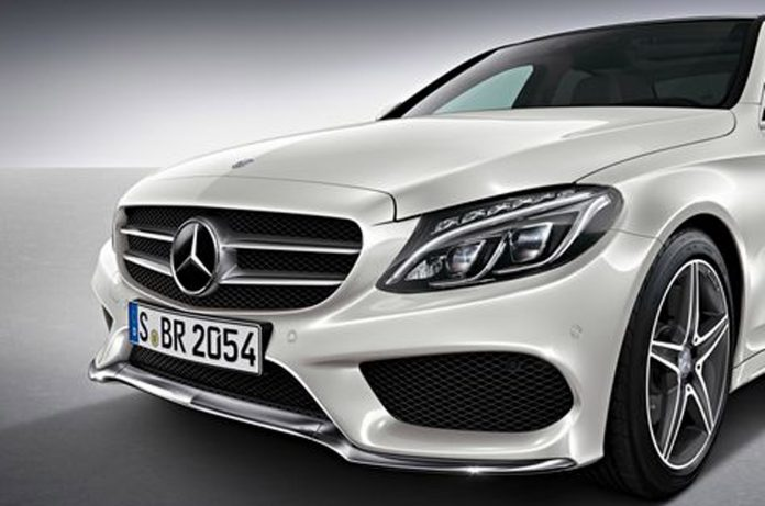 2015 Mercedes-Benz C-Class AMG Package Previewed